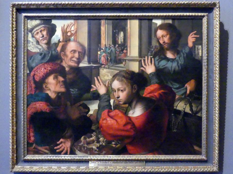 Jan Sanders van Hemessen: Berufung des Apostels Matthäus, Um 1539 - 1540