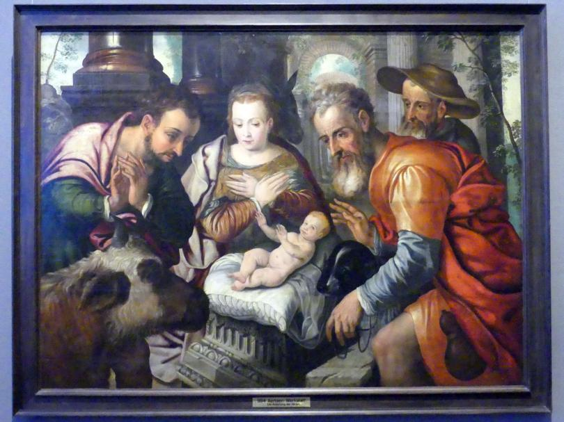 Anbetung der Hirten, Um 1560 - 1570