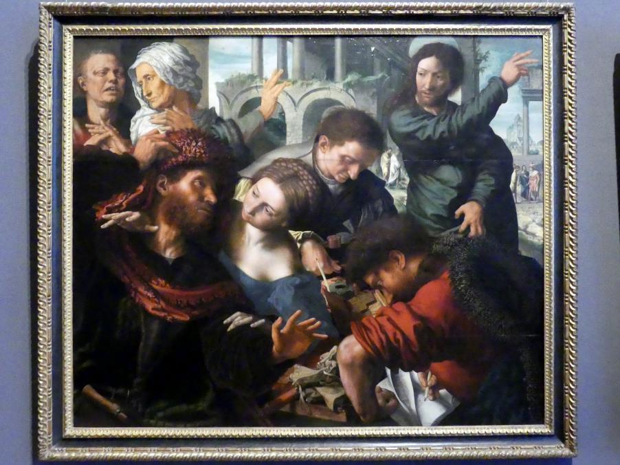 Jan Sanders van Hemessen: Berufung des Apostels Matthäus, Um 1548