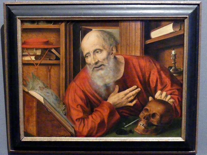 Quinten Massys: Hl. Hieronymus in der Zelle, 2. Viertel 16. Jhd.