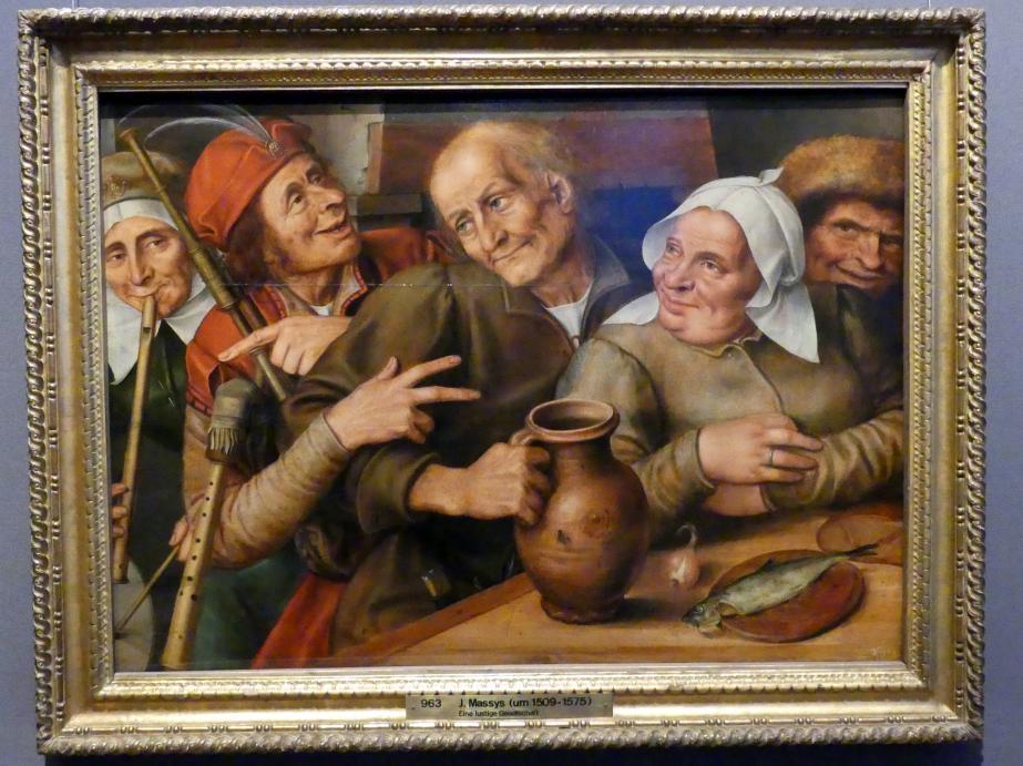 Jan Massys: Lustige Gesellschaft, 1564