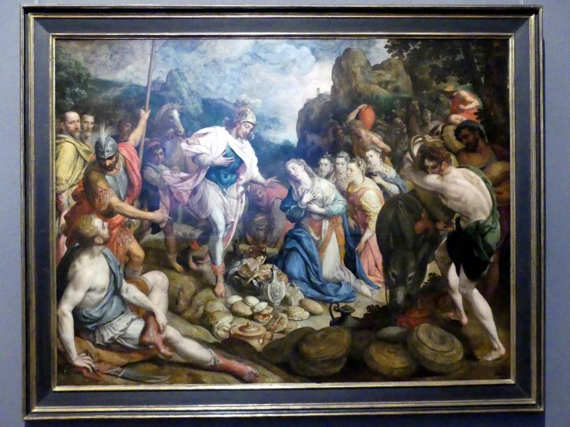 Frans Pourbus der Ältere: David und Abigail, Um 1570 - 1580
