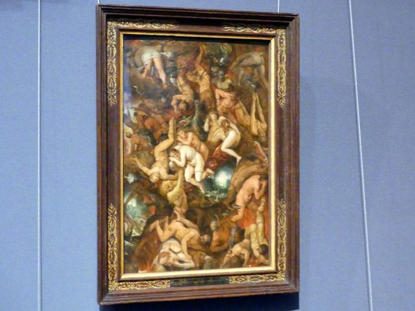 Frans Francken der Jüngere (Frans II Francken): Höllensturz der Verdammten, Um 1605 - 1610
