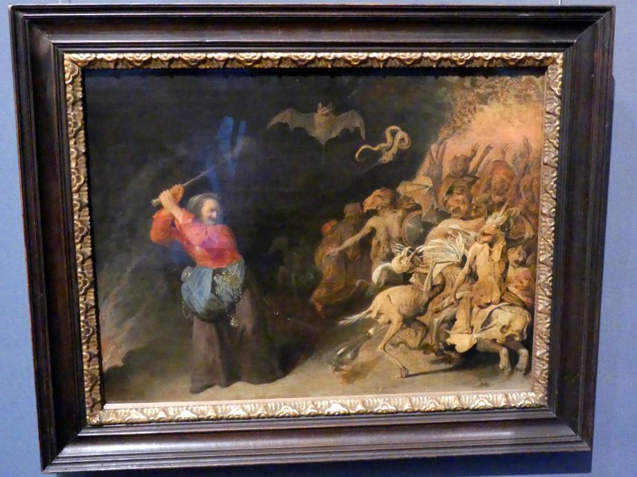 """David Ryckaert III.: Die """"Dulle Griet"""" unternimmt einen Raubzug vor der Hölle, 1651 - 1659"""