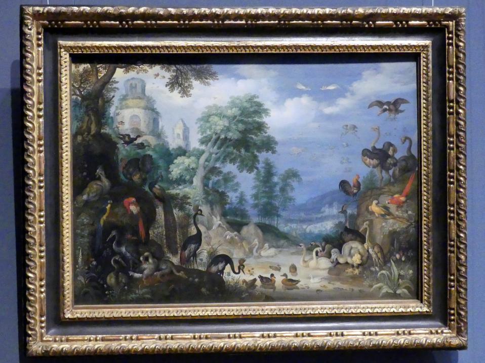 Roelant Savery: Landschaft mit Vögeln, 1629