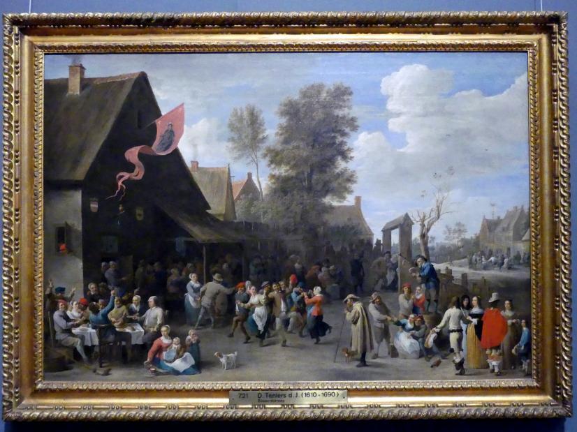 David Teniers der Jüngere: Bauernkirmes, Undatiert