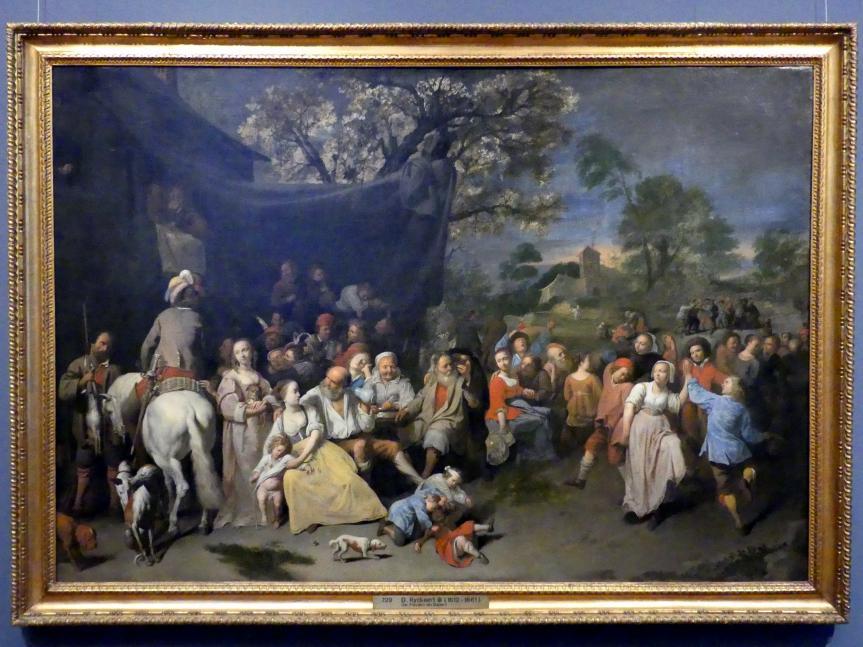 David Ryckaert III.: Freuden der Bauern (Kirmes), um 1649