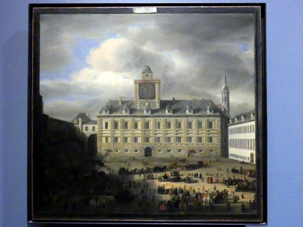 Samuel van Hoogstraten: Der innere Burgplatz von Wien, 1652