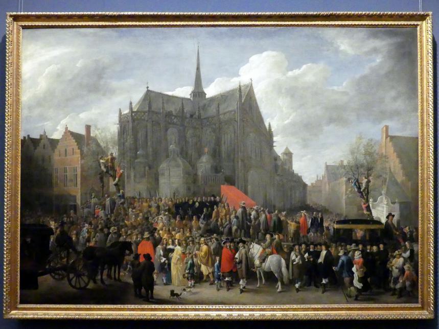 David Teniers der Jüngere: Das Vogelschießen in Brüssel, 1652