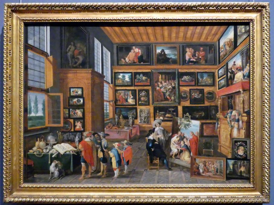 Hans III. Jordaens: Kunst- und Raritätenkabinett, um 1630