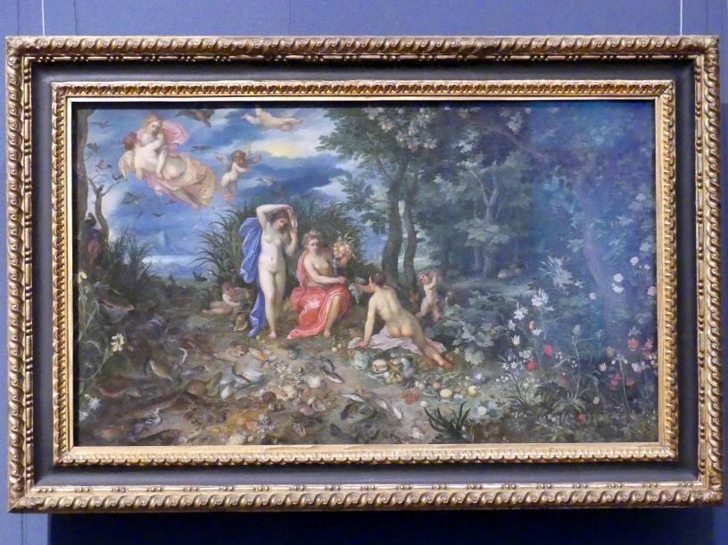 Jan Brueghel der Ältere (Blumenbrueghel): Allegorie der vier Elemente mit Ceres, 1604