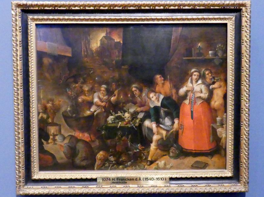 Frans Francken der Jüngere (Frans II Francken): Hexenküche, um 1610