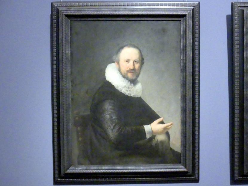 Rembrandt (Rembrandt Harmenszoon van Rijn): Bildnis eines Mannes, Um 1632