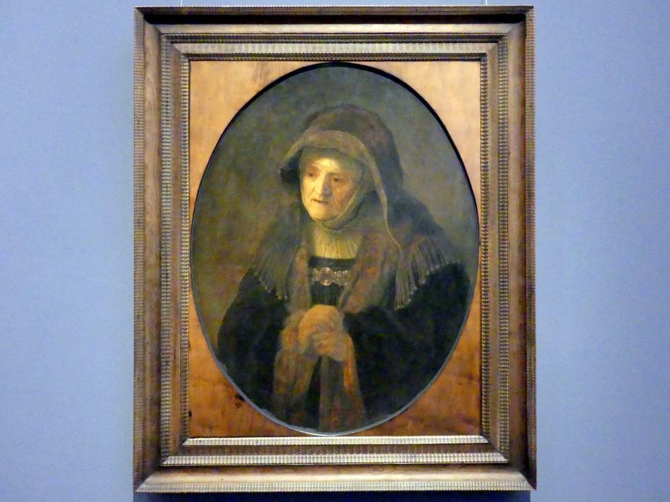 Rembrandt (Rembrandt Harmenszoon van Rijn): Die Prophetin Hanna, 1639
