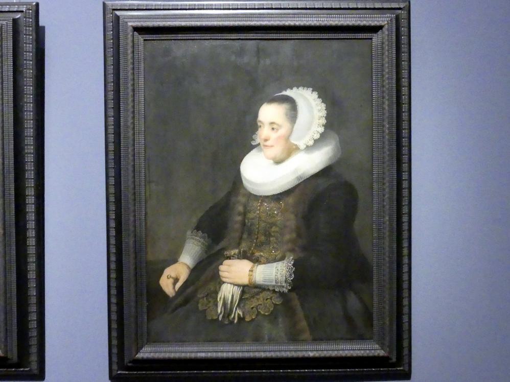 Rembrandt (Rembrandt Harmenszoon van Rijn): Bildnis einer Frau, Um 1632