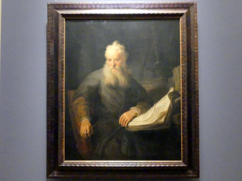 Rembrandt (Rembrandt Harmenszoon van Rijn): Apostel Paulus, Um 1633 - 1635