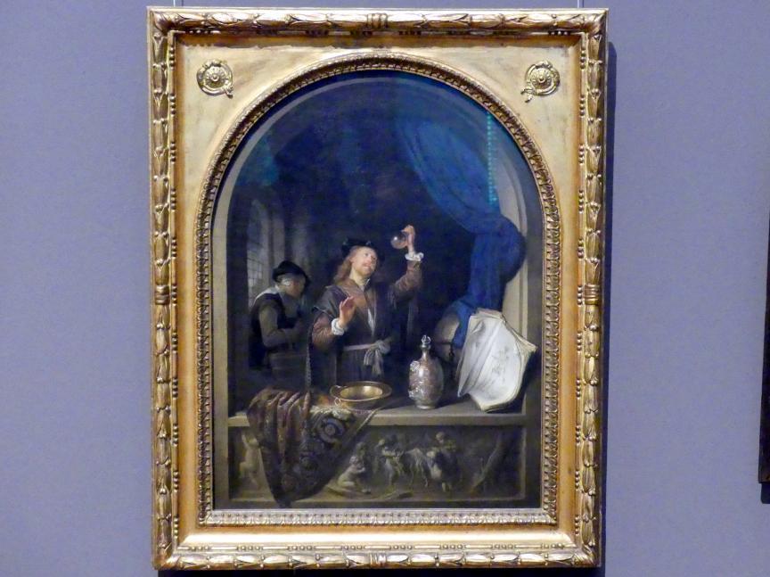 Gerard Dou (Gerrit Dou): Arzt, 1653
