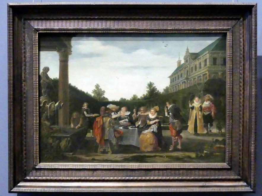 Esaias van de Velde: Festmahl im Schlosspark, 1624
