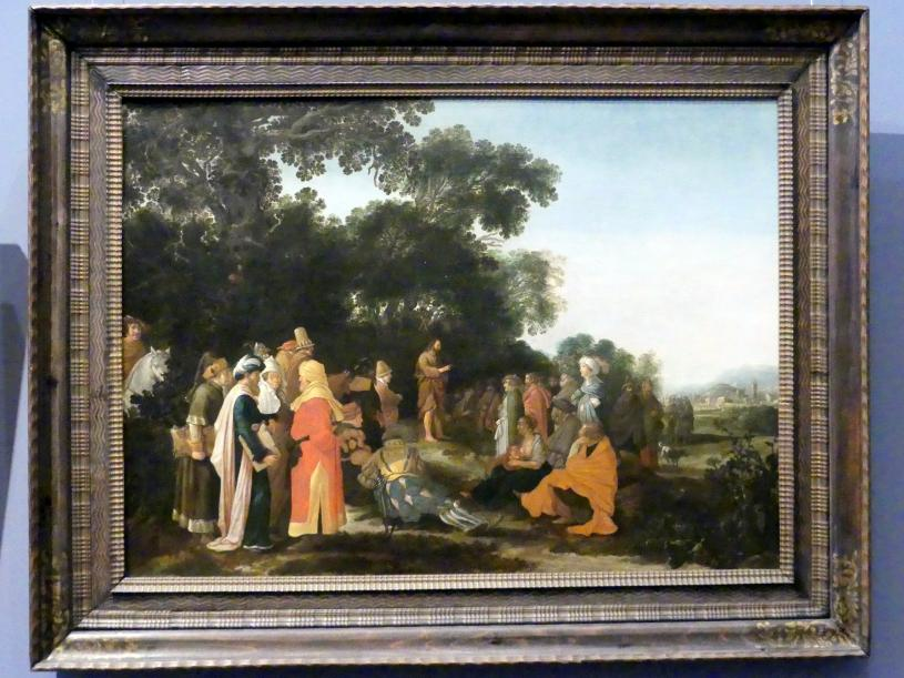 Esaias van de Velde: Predigt Johannes des Täufers, Um 1621 - 1622