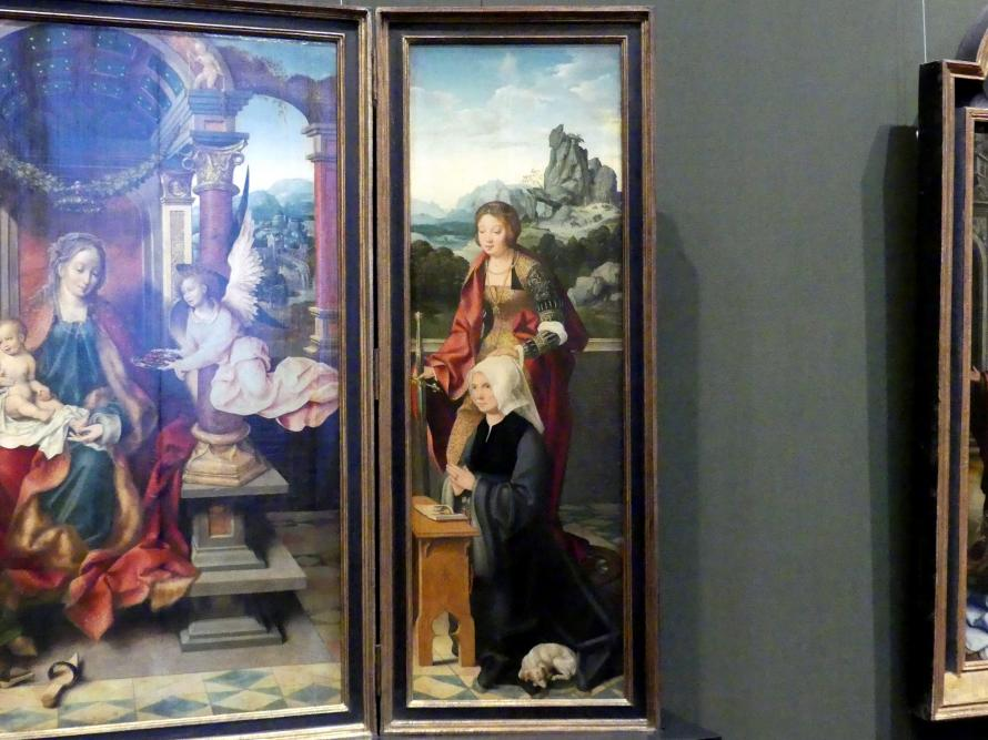 Joos van Cleve (Joos van der Beke): Flügelaltar, Um 1530