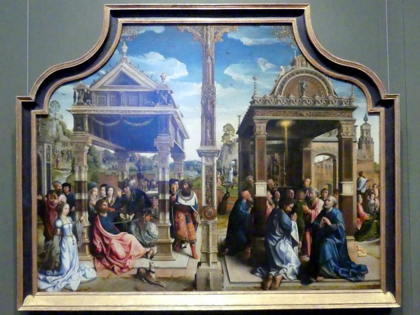 Bernard van Orley: Thomas- und Matthias-Altar, um 1515, Bild 1/2