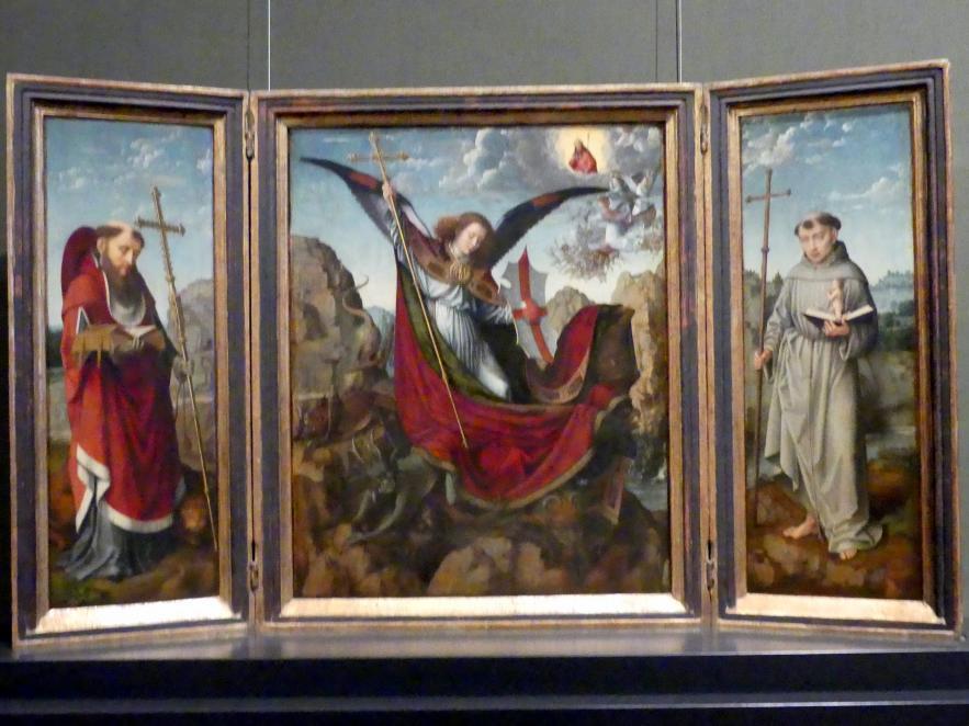 Gerard David: Michaelsaltar, um 1510