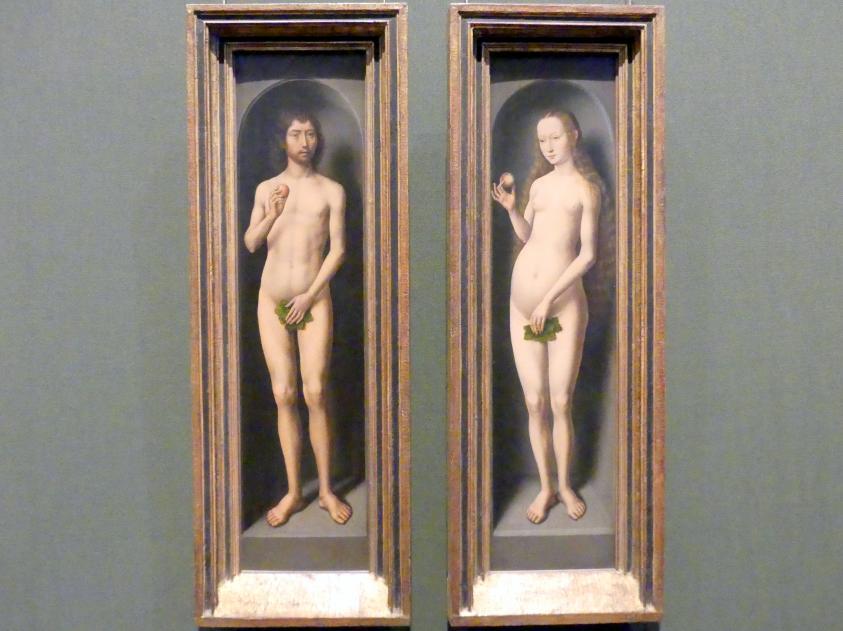 Hans Memling: Adam und Eva, um 1485 - 1490, Bild 1/2