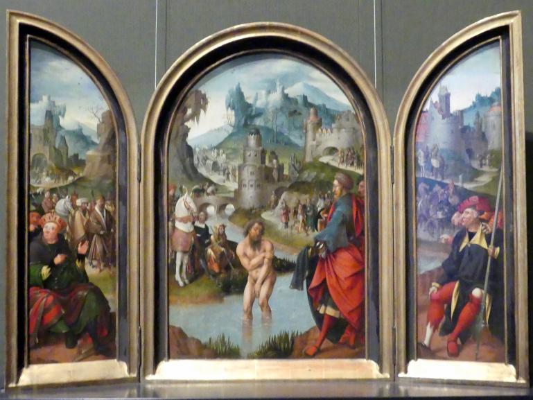 Cornelis Engebrechtsz: Flügelaltärchen, um 1520 - 1525