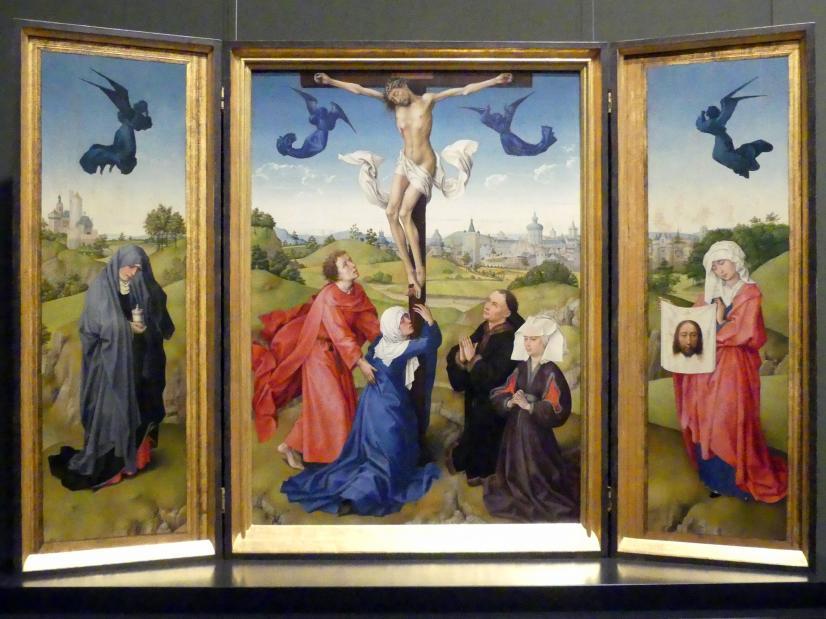 Rogier van der Weyden: Kreuzigungsaltar, 1443 - 1445