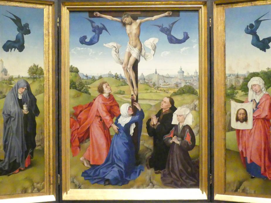 Rogier van der Weyden: Kreuzigungsaltar, 1443 - 1445, Bild 2/6