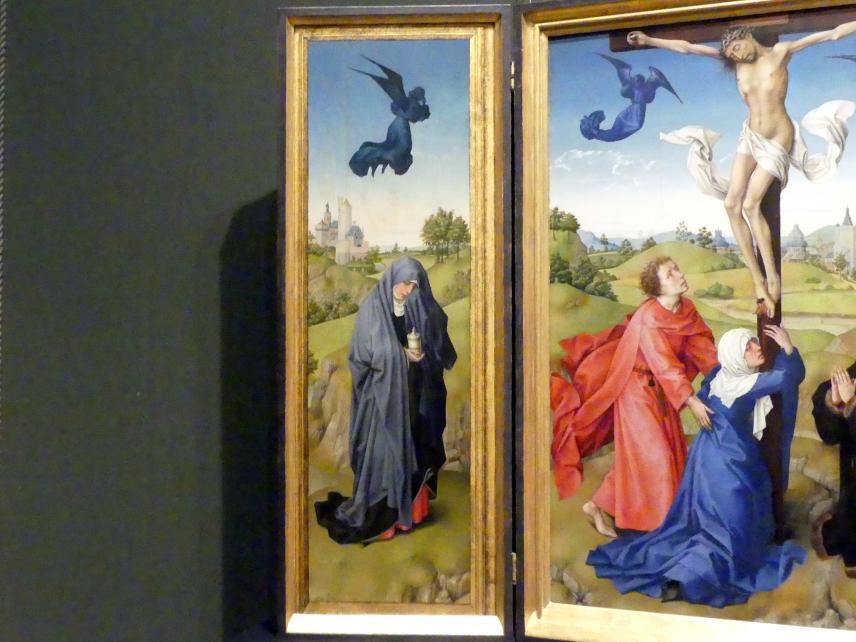Rogier van der Weyden: Kreuzigungsaltar, 1443 - 1445, Bild 3/6