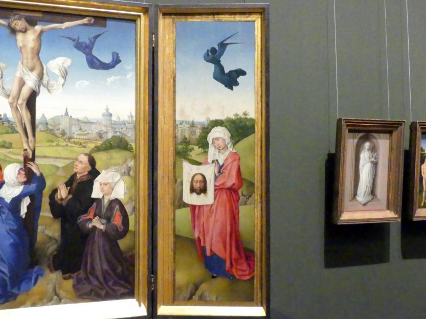 Rogier van der Weyden: Kreuzigungsaltar, 1443 - 1445, Bild 4/6