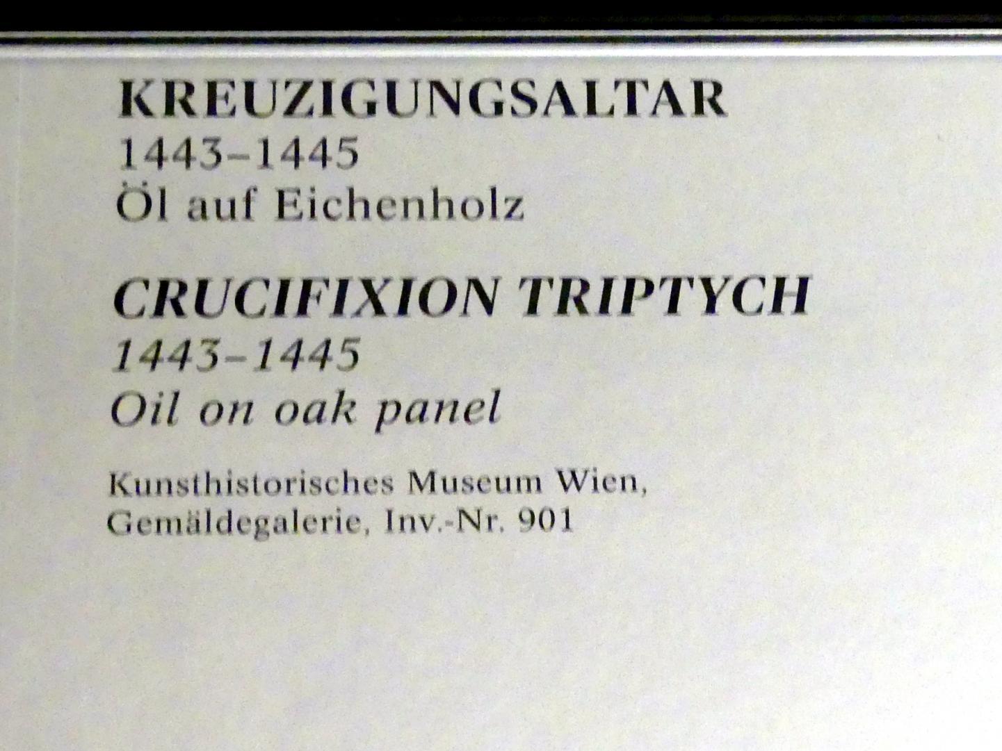 Rogier van der Weyden: Kreuzigungsaltar, 1443 - 1445, Bild 6/6