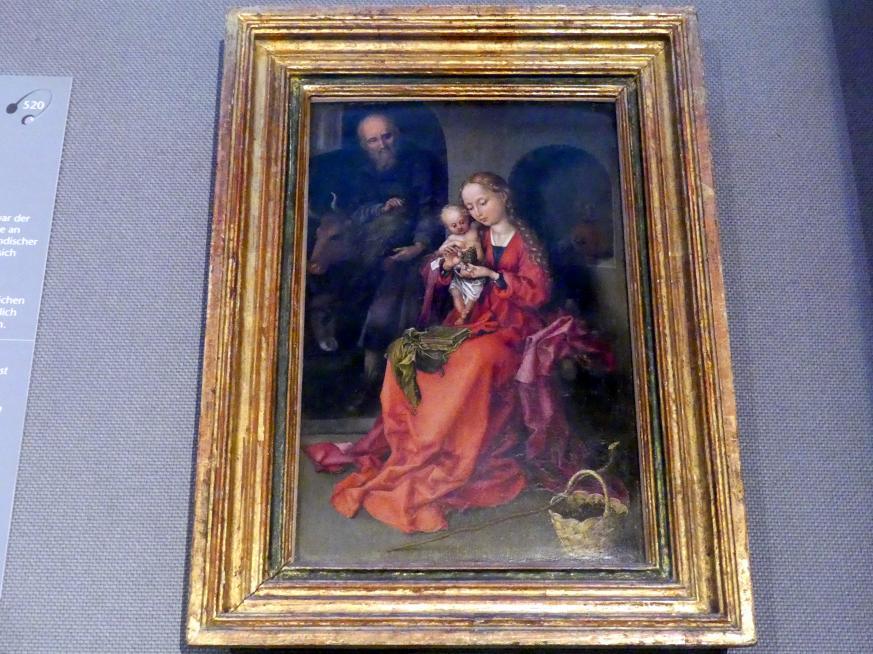 Martin Schongauer: Heilige Familie, um 1480 - 1490, Bild 1/2