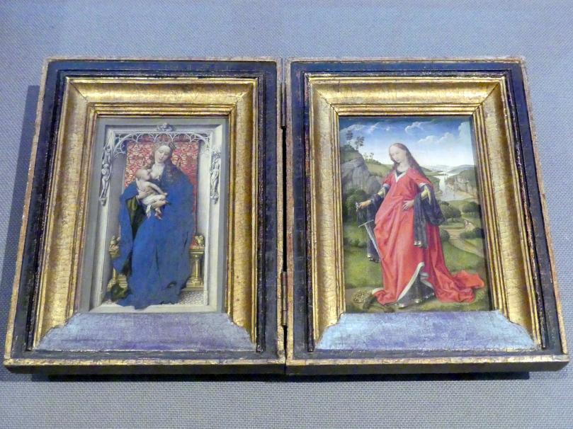 Rogier van der Weyden (Werkstatt): Maria mit Kind, Um 1450