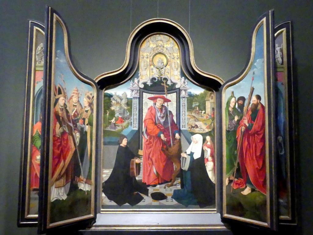 Jacob Cornelisz. van Oostsanen: Hieronymusaltar, 1511