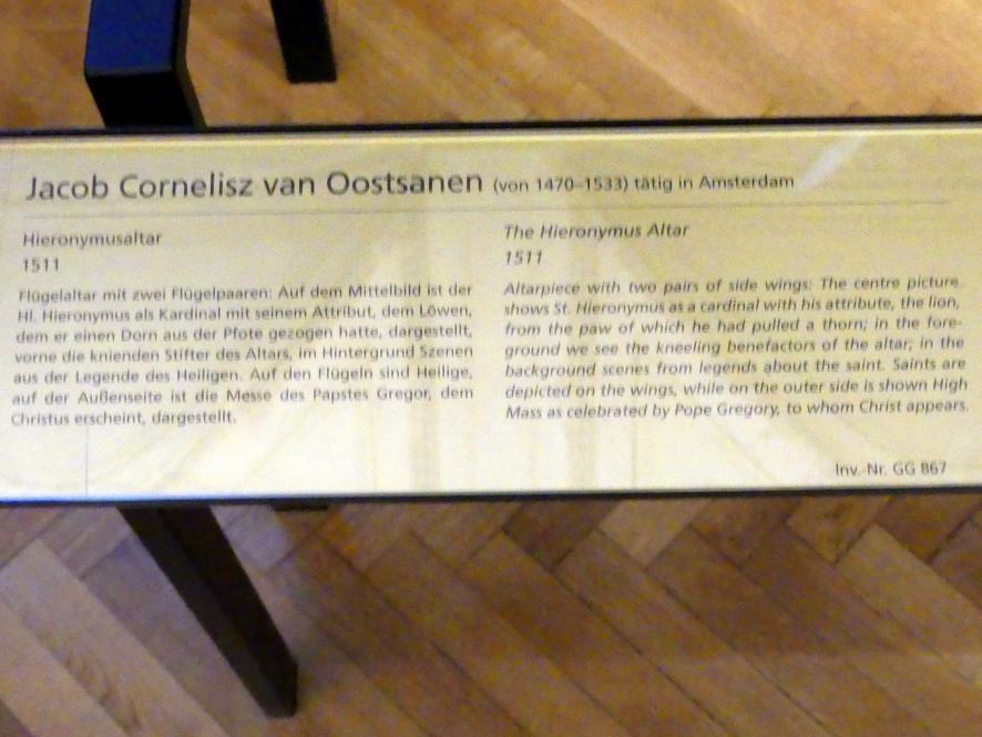 Jacob Cornelisz. van Oostsanen: Hieronymusaltar, 1511, Bild 7/7