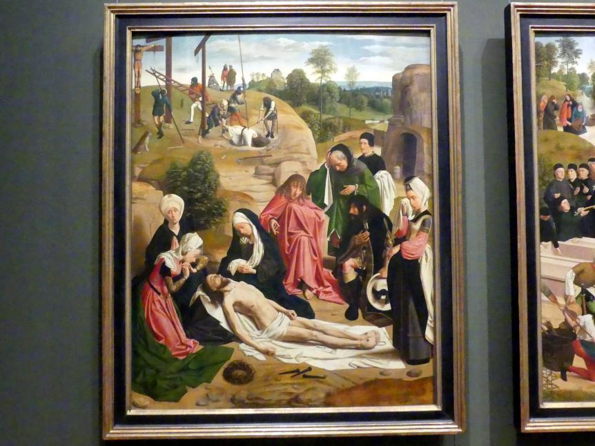 Geertgen tot Sint Jans: Beweinung Christi, nach 1484