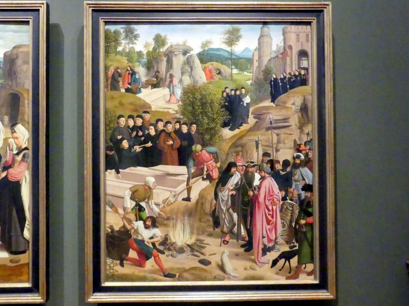 Geertgen tot Sint Jans: Schicksal der irdischen Überreste Johannes des Täufers, Nach 1484