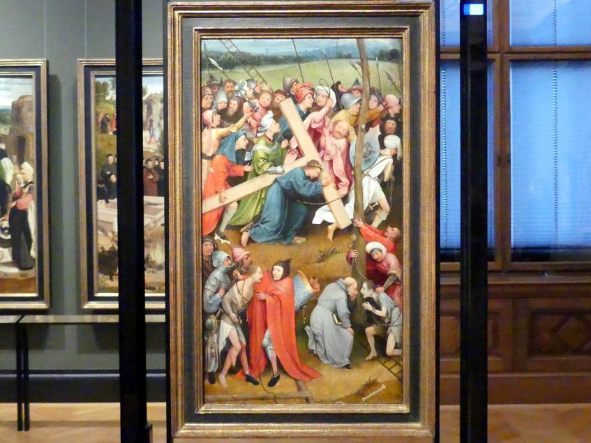 Hieronymus Bosch: Die Kreuztragung Christi, Um 1490 - 1510