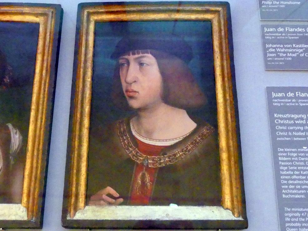 Juan de Flandes: Philipp der Schöne, um 1500