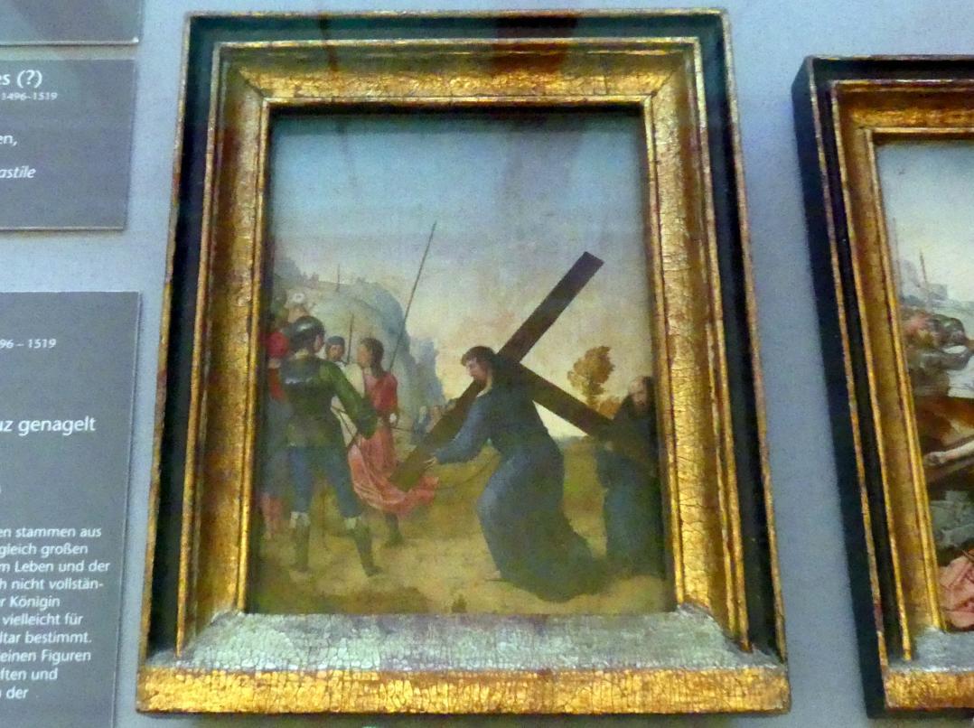 Juan de Flandes: Kreuztragung Christi, um 1496 - 1504