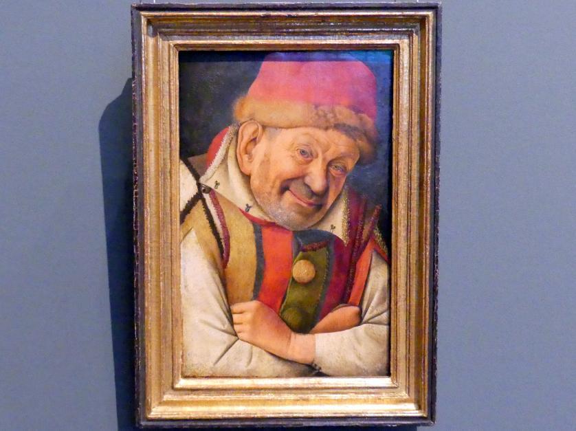 Jean Fouquet: Der Hofnarr Gonella, um 1440 - 1445