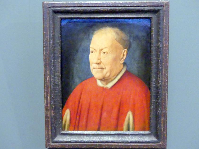 Jan van Eyck: Kardinal Niccolò Albergati (?), Um 1435