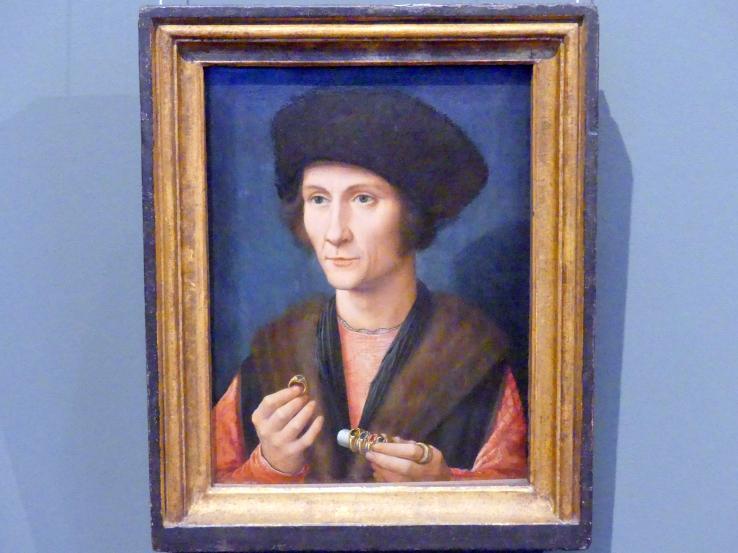 Gerard David: Bildnis eines Goldschmiedes, um 1505 - 1510