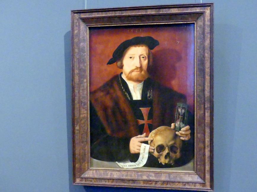 Bartholomäus Bruyn der Ältere: Bildnis eines Ordensritters, 1531