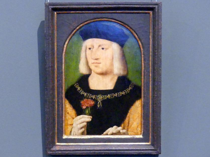 Joos van Cleve (Joos van der Beke): Kaiser Maximilian I., um 1508 - 1509