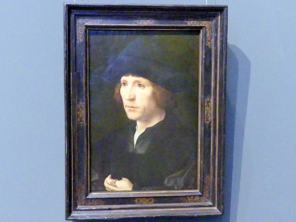 Jan Gossaert (Mabuse): Männliches Bildnis, um 1520 - 1530