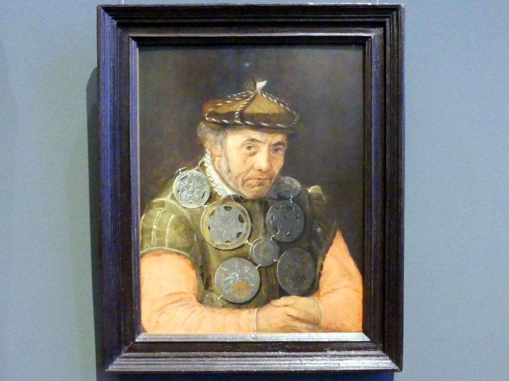 Frans Floris de Vriendt: Bildnis eines Gildenknappen, um 1563 - 1570