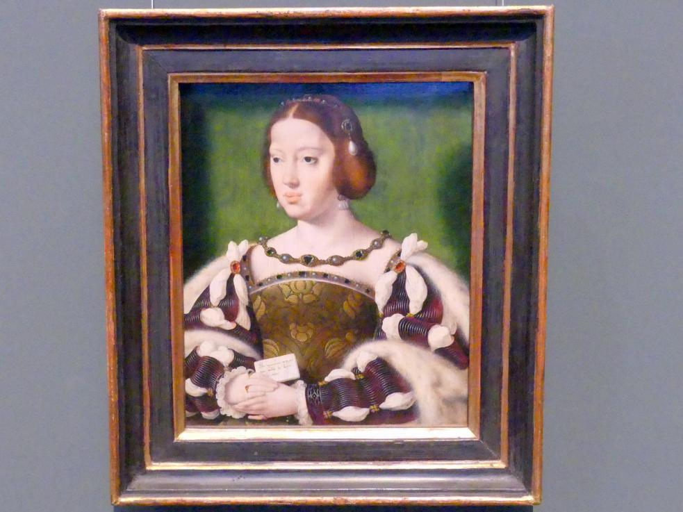 Joos van Cleve (Joos van der Beke): Königin Eleonore von Frankreich, Nach 1530